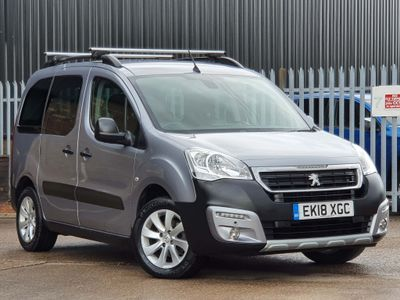 Peugeot Partner Tepee MPV 1.6 BlueHDi Outdoor (s/s) 5dr