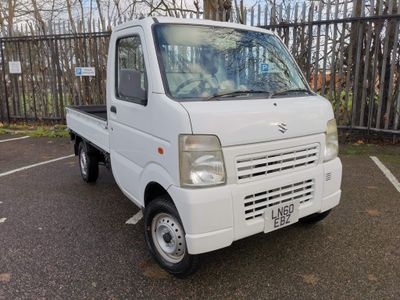 Suzuki Carry Unlisted 2010 60 LOW MILES 0.65 CC 4 WHEEL DRIVE