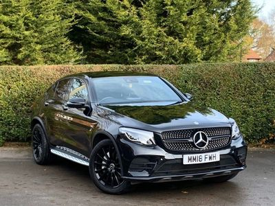 Mercedes-Benz GLC Class Coupe 2.0 GLC250 AMG Line (Premium Plus) G-Tronic 4MATIC (s/s) 5dr