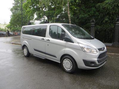 Ford Tourneo Custom Minibus 2.2 TDCi LOW ROOF. 8 SEATER MINIBUS. LWB