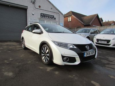 Honda Civic Estate 1.8 i-VTEC SE Plus Tourer (s/s) 5dr