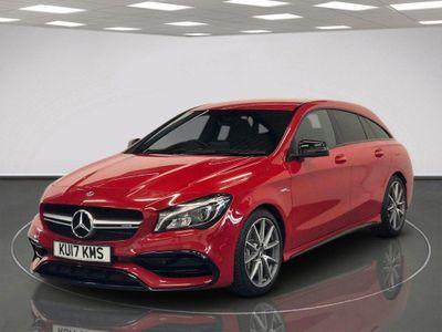 Mercedes-Benz CLA Class Estate 2.0 CLA45 AMG Shooting Brake SpdS DCT 4MATIC (s/s) 5dr