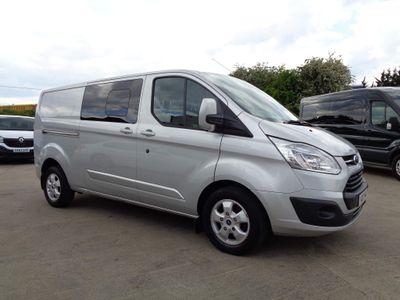 Ford Transit Custom Combi Van 2.0 TDCi 310 Limited Double Cab-in-Van Auto L2 H1 6dr (EU6)