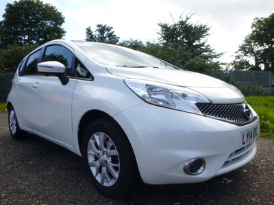 Nissan Note Hatchback 1.2 Acenta Premium (Safety & Comfort Pack) 5dr