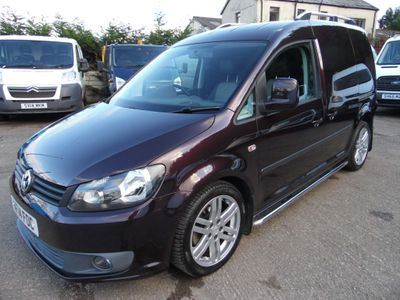 Volkswagen Caddy Panel Van 1.6 TDI C20 Highline Panel Van DSG 4dr