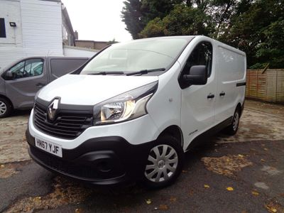 RENAULT TRAFIC Panel Van 1.6 dCi Energy SL27 Business Panel Van 4dr (EU6)