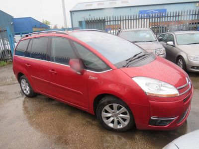 Citroen Grand C4 Picasso MPV 2.0 HDi 16v Exclusive EGS 5dr