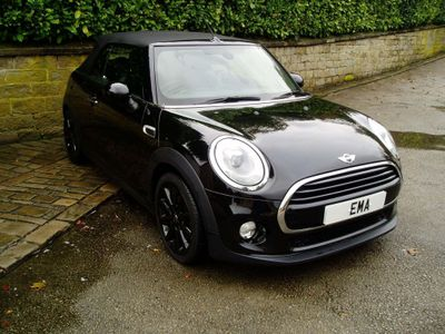 MINI Convertible Convertible 1.5 D COOPER S/S (CHILI) LEATHER+SAT-NAV