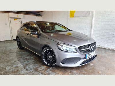 Mercedes-Benz A Class Hatchback 1.5 A180d AMG Line (Premium) 7G-DCT (s/s) 5dr