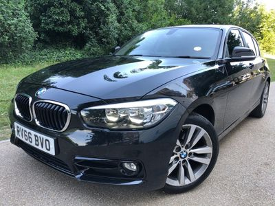 BMW 1 Series Hatchback 2.0 118d Sport Sports Hatch (s/s) 3dr