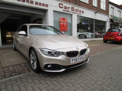 BMW 4 Series Convertible 2.0 420d Sport Auto 2dr