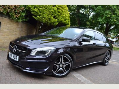 Mercedes-Benz CLA Class Estate 2.1 CLA220 AMG Sport COMAND Shooting Brake 7G-DCT (s/s) 5dr