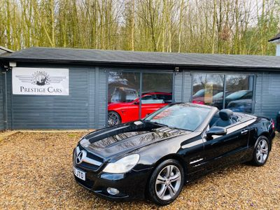 Mercedes-Benz SL Class Convertible 3.5 SL350 BlueEFFICIENCY 7G-Tronic (s/s) 2dr