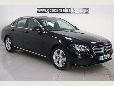 Mercedes-Benz E Class Saloon 2.0 E200d SE G-Tronic+ (s/s) 4dr