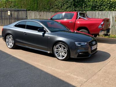 Audi A5 Coupe 2.0 TDI Black Edition Plus Multitronic (s/s) 2dr