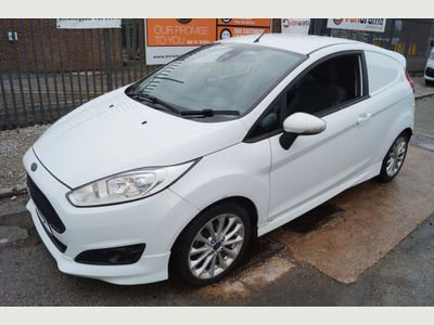 Ford Fiesta Car Derived Van 1.5TDCi SPORT-NAV MODEL (EURO6)