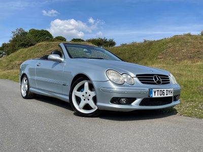Mercedes-Benz CLK Convertible 3.2 CLK320 Avantgarde Cabriolet 2dr
