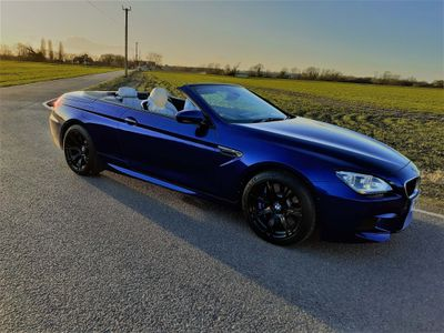 BMW M6 Convertible 4.4 M DCT (s/s) 2dr