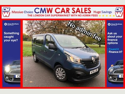 Renault Trafic Other 1.6 dCi ENERGY 27 Business L1 5dr (9 Seat)