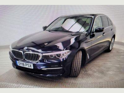 BMW 5 Series Saloon 2.0 520d EfficientDynamics SE Auto (s/s) 4dr