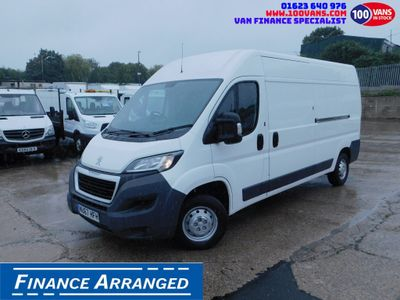 Peugeot Boxer Panel Van 2.2HDI 130PS L3H2 L3 H2 AIR CON