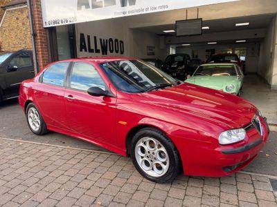 Alfa Romeo 156 Saloon 2.0 T.Spark 4dr