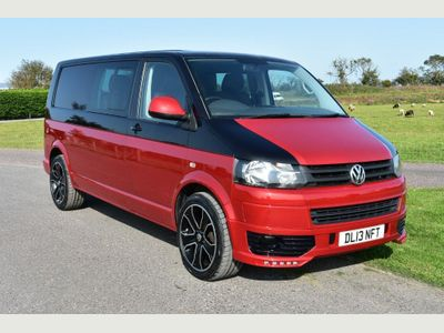 Volkswagen Transporter Campervan 2.0 TDI BlueMotion Tech T32 KOMBI & CAMPER Manual (SWB) (198 g/km, 138.08 bhp)