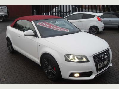 Audi A3 Cabriolet Convertible 1.8 TFSI S line 2dr