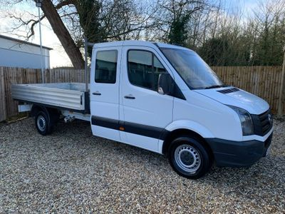 Volkswagen Crafter Dropside 2.0 TDI CR35 Double Cab Dropside Truck 4dr Diesel Manual (LWB) (134 bhp)