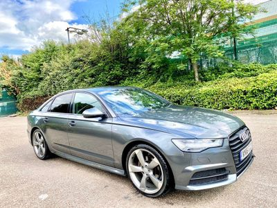 Audi A6 Saloon Saloon 2.0 TDI ultra Black Edition S Tronic (s/s) 4dr