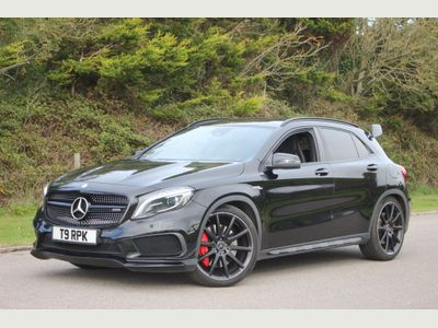 Mercedes-Benz GLA Class SUV 2.0 GLA45 AMG 7G-DCT 4MATIC 5dr