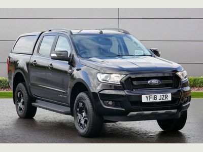 Ford Ranger Pickup 2.2 TDCi Black Edition Double Cab Pickup Auto 4WD 4dr