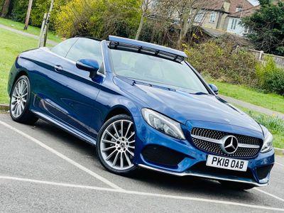 Mercedes-Benz C Class Convertible 2.1 C220d AMG Line (Premium Plus) Cabriolet G-Tronic+ 4MATIC (s/s) 2dr