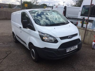 Ford Transit Custom Panel Van 290 euro 6
