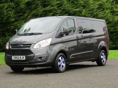 Ford Transit Custom Unlisted 290 LIMITED DOUBLE CAB-IN-VAN