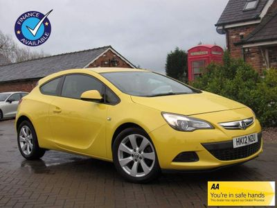 Vauxhall Astra GTC Coupe 2.0 CDTi Sport Auto 3dr