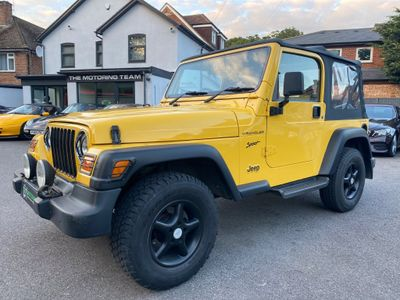 Jeep Wrangler Convertible 2.5 Sport Soft top 4x4 3dr