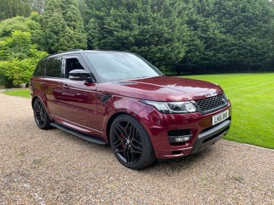 Land Rover Range Rover Sport SUV 3.0h SDV6 Autobiography Dynamic Auto 4WD (s/s) 5dr