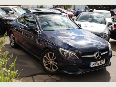Mercedes-Benz C Class Coupe 2.1 C220d Sport (Premium Plus) G-Tronic+ (s/s) 2dr