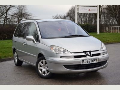 Peugeot 807 MPV 2.0 HDi Executive 5dr