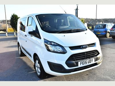 Ford Transit Custom Unlisted 2.2 TDCi 290 L1H1 Double Cab-in-Van 5dr
