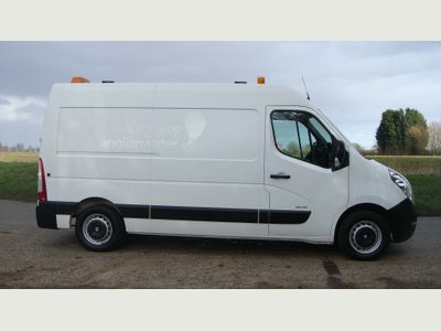 Vauxhall Movano Panel Van RIONED DIESEL JETTER JETTING UNIT MWB