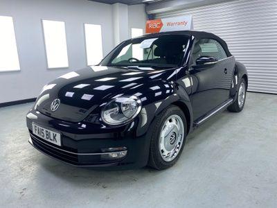 Volkswagen Beetle Convertible 1.2 TSI BlueMotion Tech Design Cabriolet (s/s) 2dr