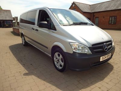 Mercedes-Benz Vito Other 2.1 113CDI BlueEFFICIENCY Traveliner Compact Bus 5dr (EU5, 8 Seats)