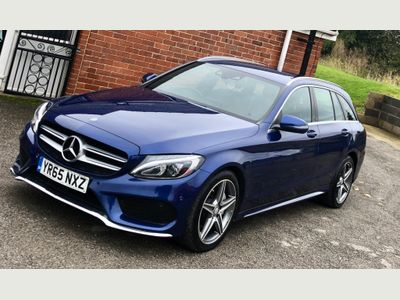 Mercedes-Benz C Class Estate 2.1 C220d AMG Line (s/s) 5dr