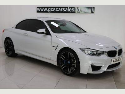 BMW M4 Convertible 3.0 BiTurbo M DCT (s/s) 2dr