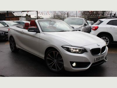 BMW 2 Series Convertible 1.5 218i GPF Sport Auto (s/s) 2dr