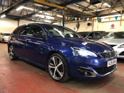 Peugeot 308 SW Estate 2.0 BlueHDi GT Line EAT6 (s/s) 5dr