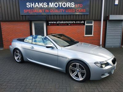 BMW M6 Convertible 5.0 V10 SMG 2dr