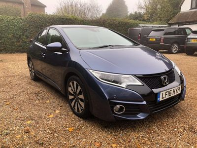 Honda Civic Hatchback 1.8 i-VTEC SE Plus Auto 5dr